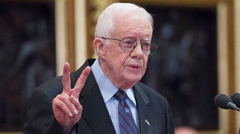 Former US President Jimmy Carter Falls at Home, Requires ...