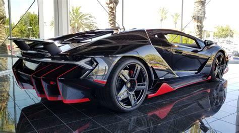 lamborghini centenario coupe hits   car market