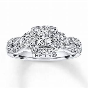 kay leo diamond engagement ring 1 1 8 ct tw diamonds 14k With leo diamond wedding rings