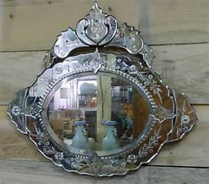 Miroir Vénitien Ancien : miroir ancien antiquites en france page 12 ~ Preciouscoupons.com Idées de Décoration