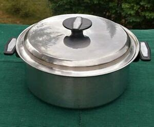 carico   qt waterless stock pot wlid nutri tech  ply alcore stainless ebay