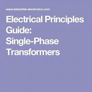 Electrical Principles Guide  Single