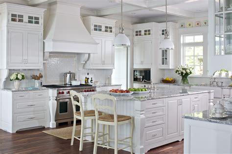 White Cottage Kitchen  Traditional  Kitchen Grand