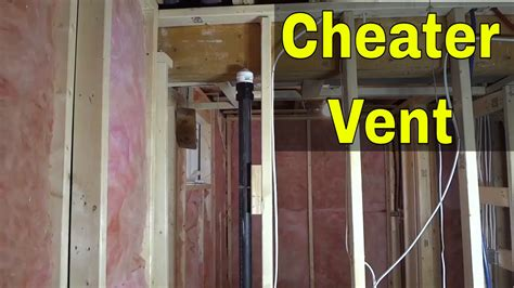 cheater vent  plumbing   works aka air admittance