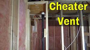 Cheater Vent For Plumbing