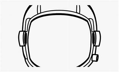 Mask Astronaut Clipart Helmet Space Cartoon Netclipart