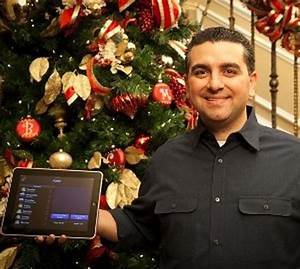 Buddy Valastro opts for state-of-the-art Christmas decorations