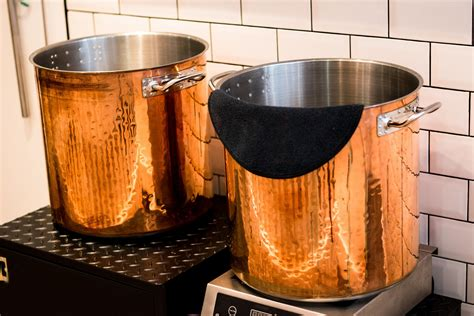 cookware lagostina copper pans pots hammered market today pot ply tri gas