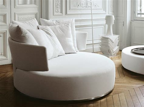 canapé b b italia sofá redondo de tela sofá de tela colección amoenus by