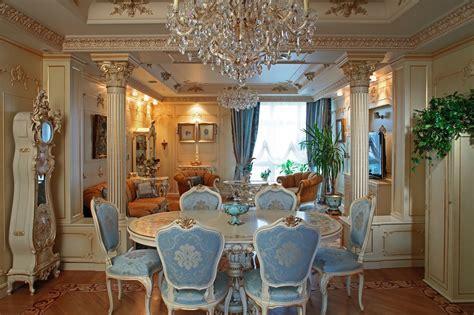 Home Interior Design Styles : Baroque Style Interior Design Ideas