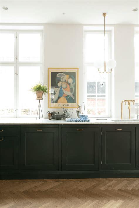 dark green kitchens   jessica brigham
