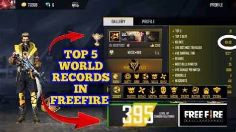 5 MOST POPULAR AND UNIQUE ID IN FREE FIRE [ World Records ...