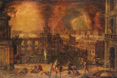 fire  troy kerstiaen de keuninck hermitage museum