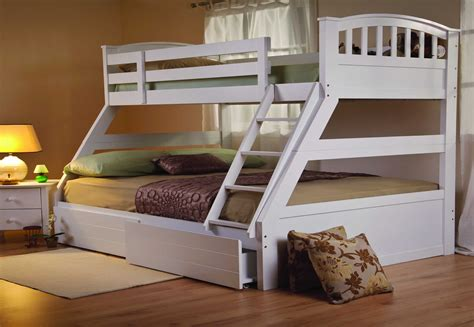 bunk beds with mattress included sweet dreams epsom white bunk bed solid wood