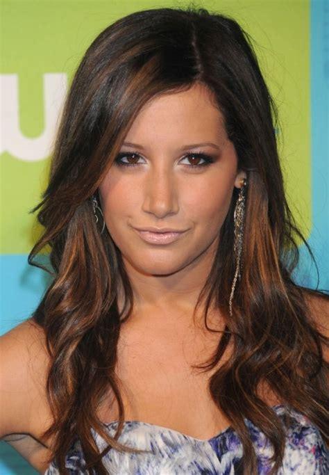Dark Brown Hair With Caramel Chunks   Pretty Designs