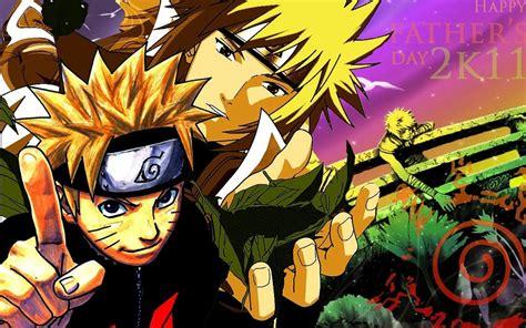 Naruto Shippuden Naruto Uzumaki Cuarto Hokage Fondo De