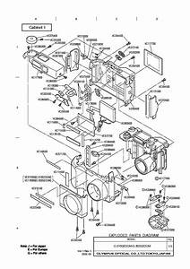 Olympus T20 Flash Sm Service Manual Download  Schematics  Eeprom  Repair Info For Electronics