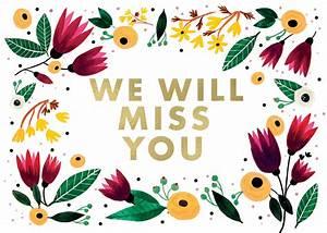 We Will Miss You : we will miss you free miss you card greetings island ~ Orissabook.com Haus und Dekorationen