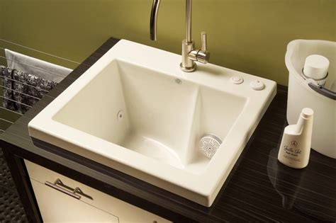 Laundry Room Sink With Built In Washboard by Jentle Jet Laundry Sink Modern Utility Sinks