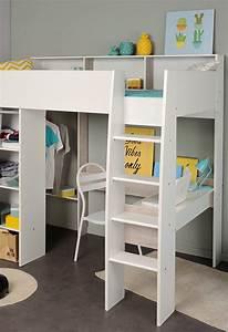 Lit Bureau Enfant : un lit mezzanine pour la chambre des enfants blog but ~ Farleysfitness.com Idées de Décoration