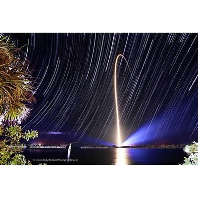 Stunning Astrophoto Captures Awe Inspiring NASA Rocket