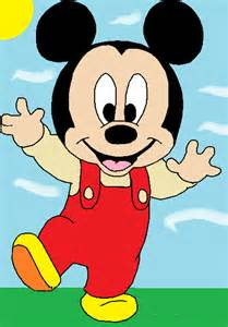 Baby Mickey Drawings
