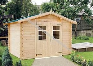 Abris De Jardin Auvergne : kit abri de jardin en madriers de 28 mm livr gratuitement ~ Premium-room.com Idées de Décoration