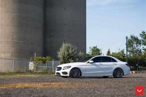 white mercedes  class    wear custom wheels