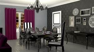 Photo decoration deco salle a manger tapisseriejpg for Tapisserie salle a manger