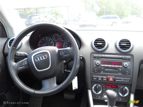 audi a3 dashboard 2006 audi a3 3 2 s line quattro black dashboard photo