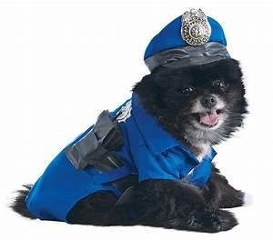 Rubie 39 S Police Dog Pet Costume X Large Blue Size Extra