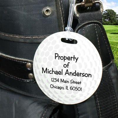 personalized golf bag tag custom printed golf tag golf
