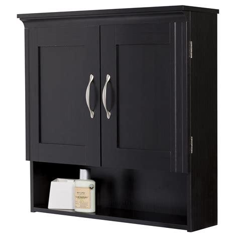 Creative Ware Home Somerset Espresso Wall Cabinet