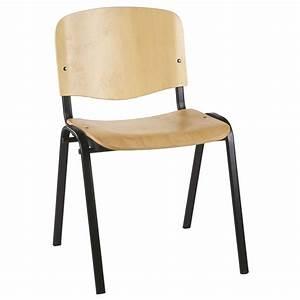 Chaise De Bureau En Bois : chaise empilable en bois ~ Teatrodelosmanantiales.com Idées de Décoration