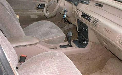 how make cars 1995 mercury sable interior lighting taurus sho center console installation