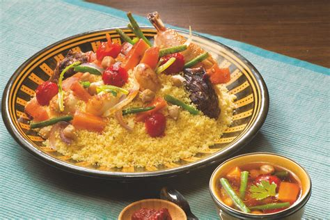 recette couscous kabyle seksou avec la semoule le renard