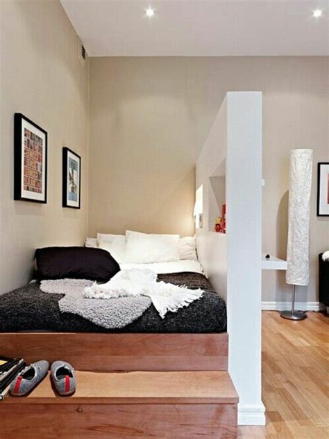 deco chambre petit espace choisir le meilleur lit adulte 40 belles idées archzine fr