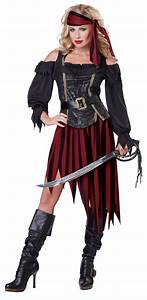 Pirate Queen Of The High Seas Adult Costume BuyCostumes com