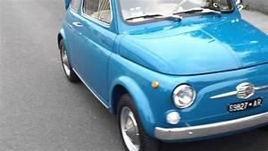Avviamento Fiat 500 F 1966
