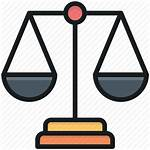 Icon Scale Balance Law Legal Justice Court