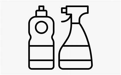 Cleaning Clip Clipart Supplies Clipartkey Sanitization