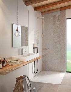 Store Salle De Bain : 10 fa ons de se cr er une salle de bains zen elle d coration ~ Edinachiropracticcenter.com Idées de Décoration