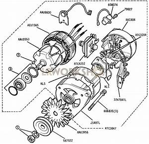 Alternator - 16 Acr 12 Volt 34 Amp Machine Sensed