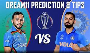 IND vs AFG Dream11 Team - Check My Dream11 Team, Best ...