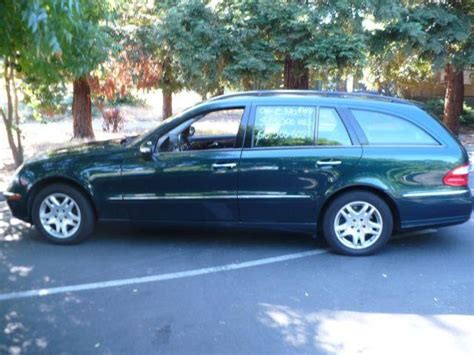 The new wagons will bow this fall, priced at about $49,000 for an e320 wagon and roughly $58,000 for an e500. 2004 MERCEDES BENZ E320 WAGON 4 MATIC 3RD ROW SEAT for Sale in Lafayette, California Classified ...