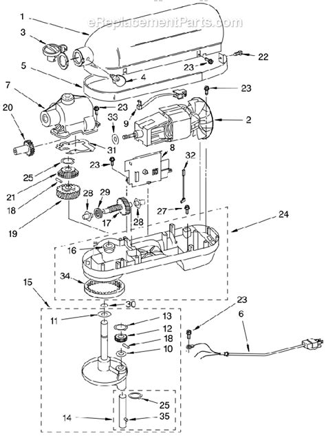 Kitchenaid Kpmxnp Parts List Diagram