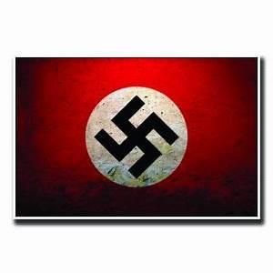 Nazi Flag design Poster