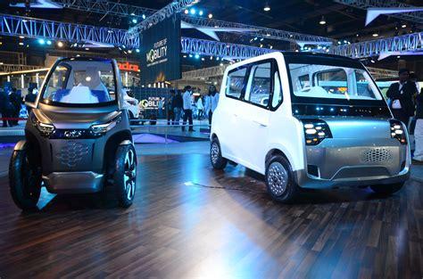 Mahindra Showcases The 'future Of Mobility' At Auto Expo