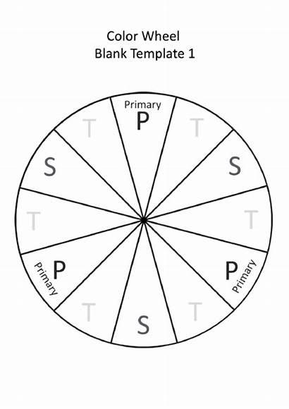 Wheel Blank Printable Template Pdf