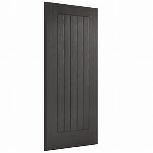 Lpd, Doors, Charcoal, Grey, Embossed, Norfolk, External, Door